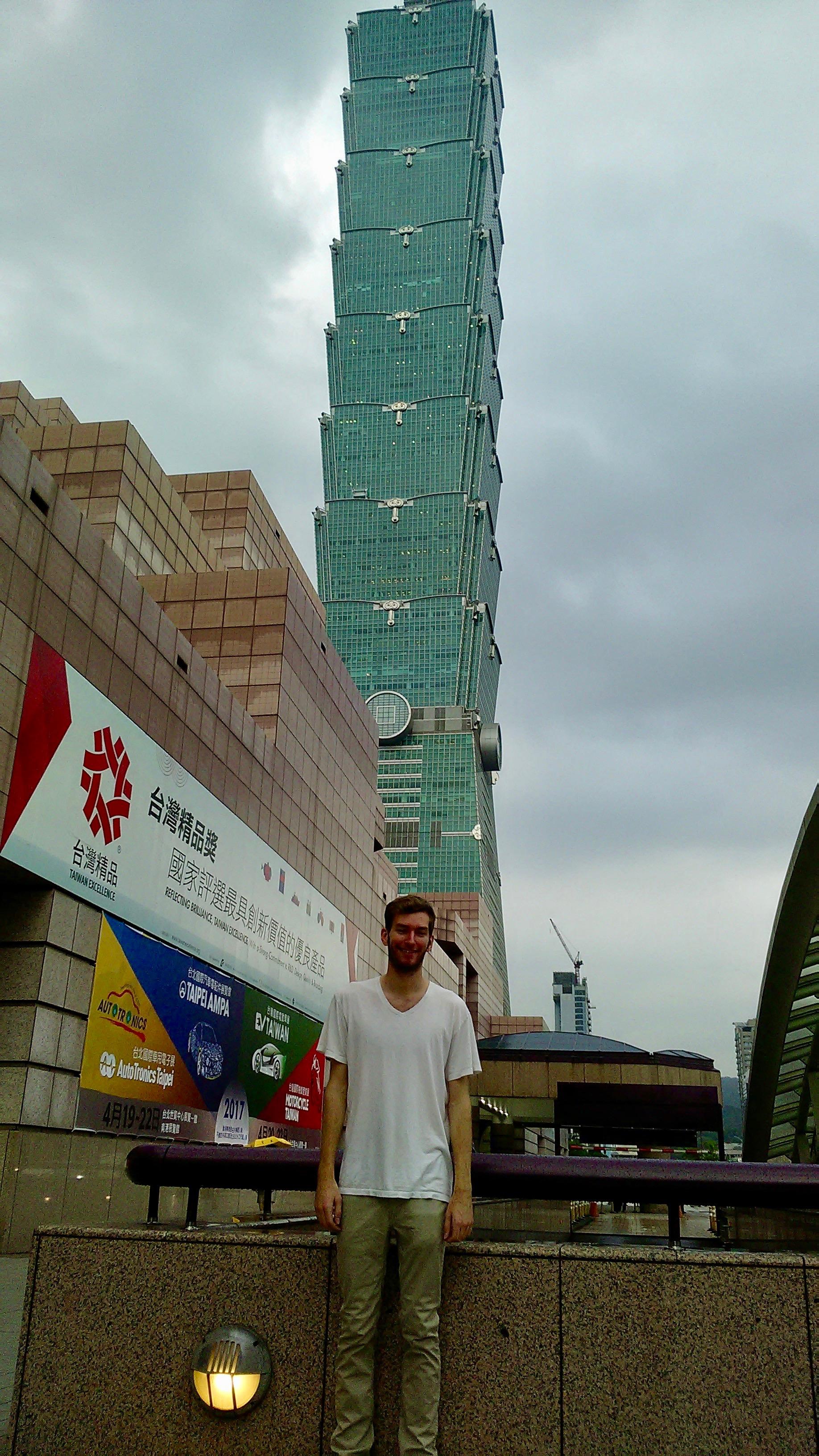 Taipei 101 in Taiwan Traveling in Asia