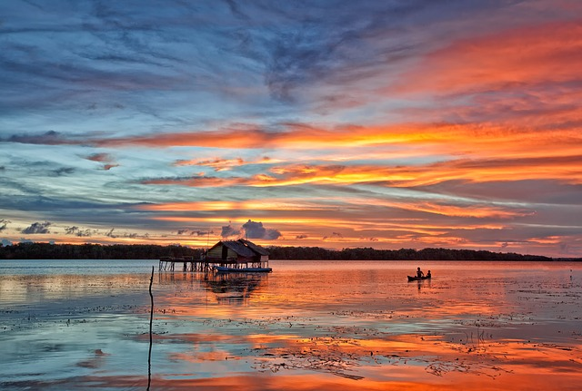 Indonesia sunset. Why you should learn Indonesian